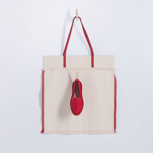 Mars Tote Bag - Red